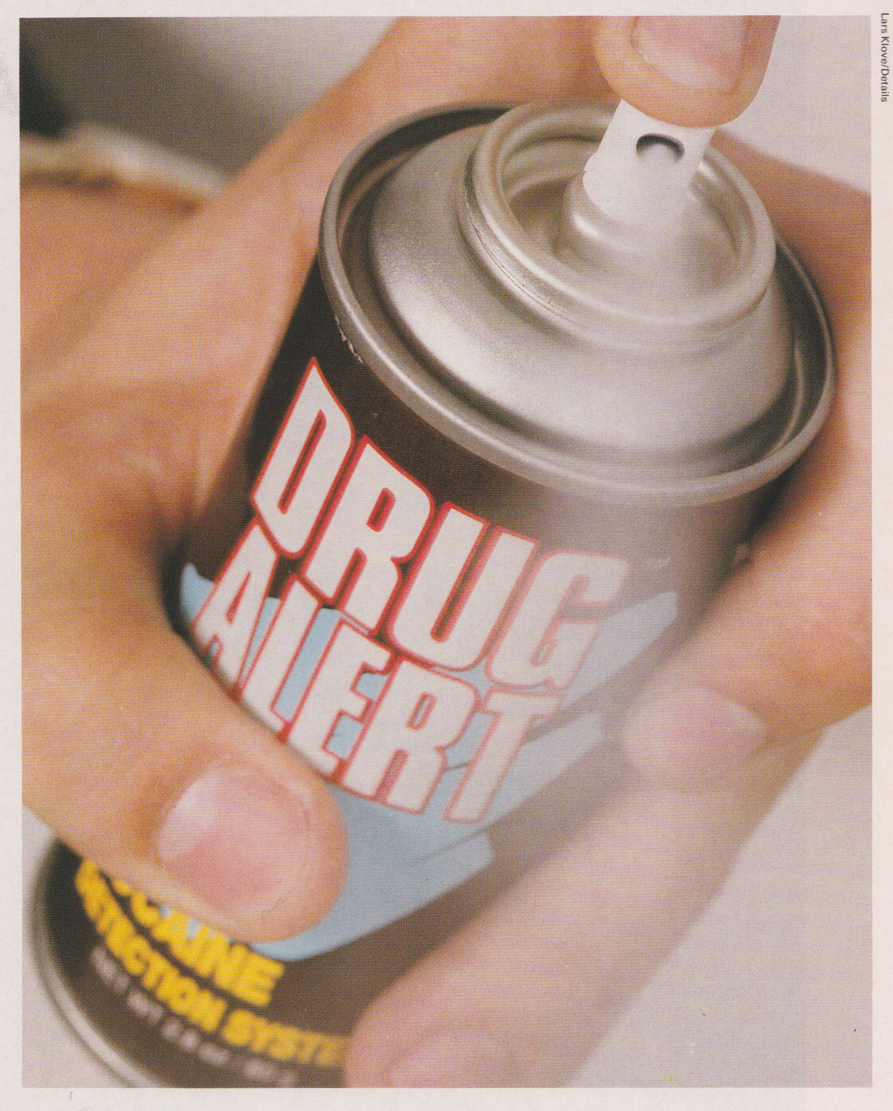 Drug Alert, Spray, Drug Prevention, Cocain, Spray