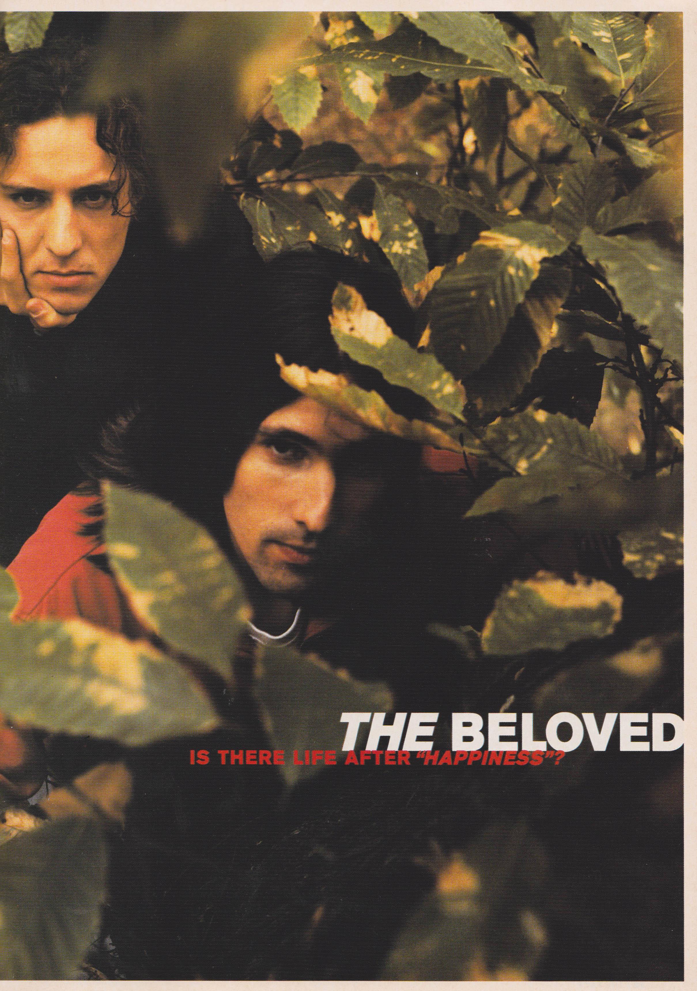 The Beloved, Interview, The Face, December, 1990, Sheryl Garratt