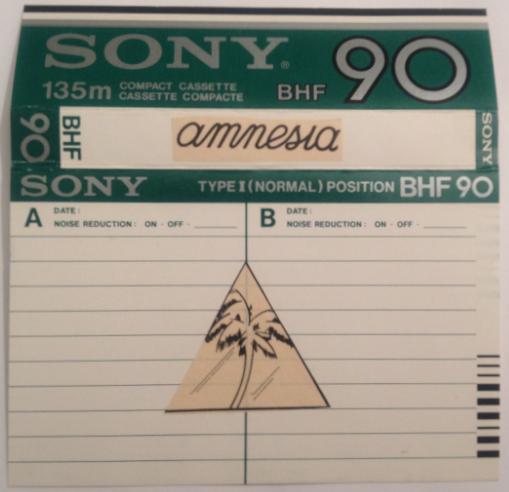 Alfredo, 1984, Amnesia, Tape, Ibiza, Sade, Legend, Balearic