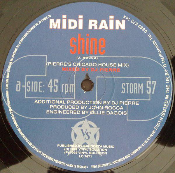 John Rocca, Freeze, Pink Rhythm, Midi Rain, Interview, Vinyl Solution, Test Pressing