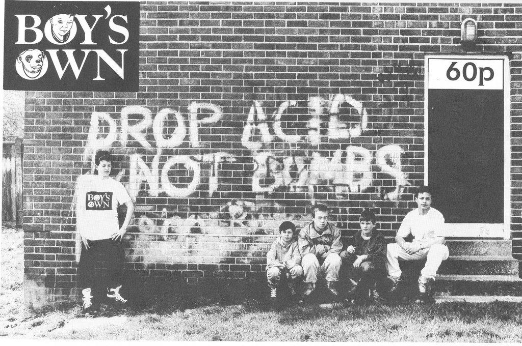 Boy's Own, Eddy Rhead, Terry Farley, Cymon Eckles, Piece, Interview, Oi Polloi